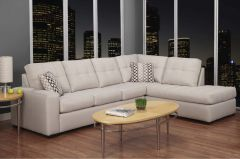 9883 2PC CANADIAN MADE SECTIONAL SOFA SET