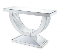 U-Shaped Console Table with Rectangular Top