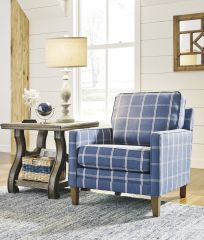 ACCENT CHAIR IN BLUE PF14403