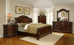 Quality Bedroom Sets in beautiful Walnut Color Journey - GL2903