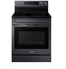 Samsung NE63A6711SG Black Freestanding Electric Range with True Convection