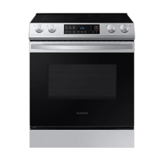6.3 Cu. Ft. Stainless Steel Electric Range with Slide-in Design   NE63T8111SS