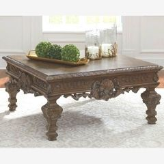 Designer wooden coffee table T803