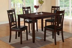Wooden 7 Piece Set Greece in Dark Espresso Finish Sale - GL4680