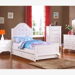 ME01 651 -6 Pcs Twin/Double Youth Bedroom Set