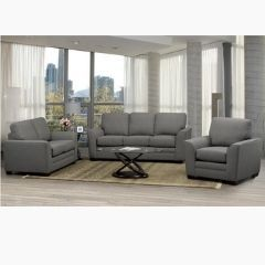 Grey Canadian Made Couch Set (Pearson)