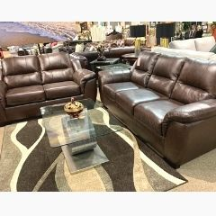 5150 (CANADIAN MADE GENUINE LEATHER SOFA AND LOVESEAT)