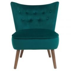 Elle Accent Chair in Green SKU: 403-340GN