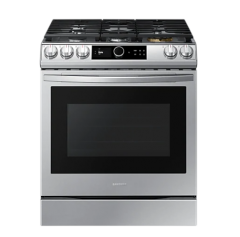 6.0 cu.ft. Samsung NX60T8711SS Gas Range with 22K Double Burner