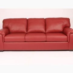 solid wood red sofa set
