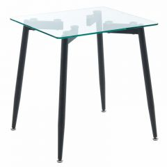 Abbot Accent Table in Black SKU: 501-453BK