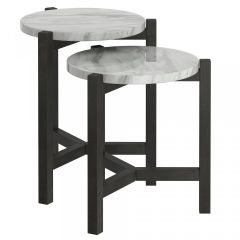 Pascal Accent Table in Grey SKU: 501-548GY