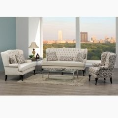 Made in Canada Sofa Loveseat & Accent Chair Set (Annora)