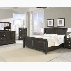 Contemporary Style Queen 6pc Bedroom set - Colossus