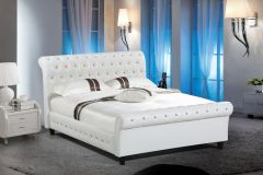 Exciting offers on Tufted Queen beds at Purba Furniture - Star GL2718