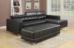 Brand new Distinctive Sectional with 3 Adjustable Headrest - GL6645