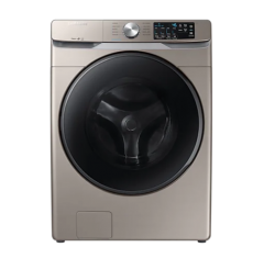 Champagne Coloured Samsung 5.2 cu. ft. Front Load Washer WF45R6100AC