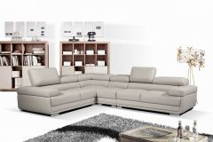 Latest Designed 4 Pc Sectional Set, Memory Foam Seat in Grey- GL6552