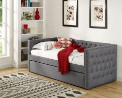 Comfortable Tufted Daybed in Grey Color - Daybed grey GL2216