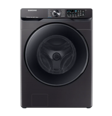 Smart Front Load Washer with Super Speed in Black | WF50T8500AV