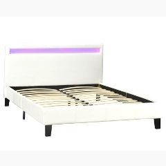 QUEEN/FULL PLATFORM BED - LX688 Q WH