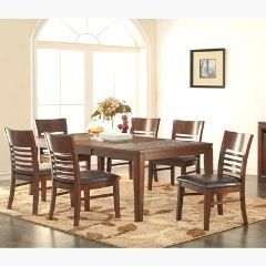 Solidwood 7Pc Dining Set -  Bamboo