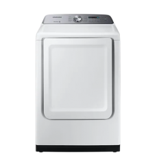 Samsung DVE50T5205W 7.4 Cu.Ft. Electric Dryer in White