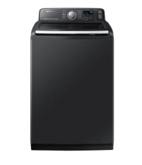 5.8 cu.ft. High Efficient Top Load Washer in Black Stainless Steel WA50T7455AV