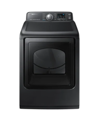 Electric Dryer with Steam Sanitize+ in Black Stainless Steel - DVE50T7455V