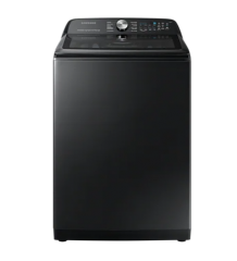 """""""WA50A5400AV - 5.8 cu.ft. Top Loading Washer with SmartThings in Black """""""