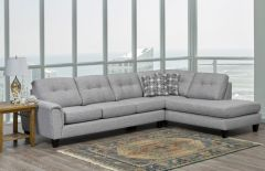 9825 CANADIAN MADE 2PC SECTIONAL SOFA SET