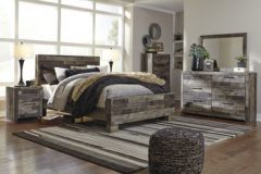 Contemporary style 6 pc bedroom set (B200)