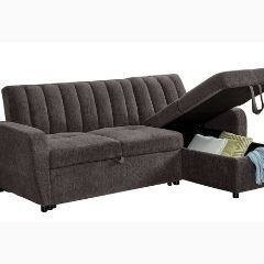 Sectional with Pull Out Bed - 4016-SEC