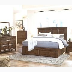 Contemporary style 6pc Queen Bedroom set - B762