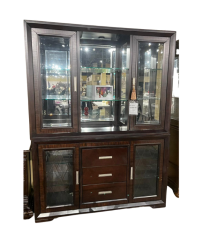 Elegant Hutch and Buffet - Brentwood