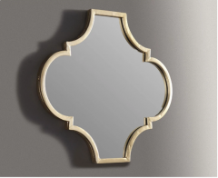 GOLDEN BORDER STYLISH MIRROR A8010155
