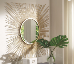 GOLDEN FINISH MIRROR A8010124