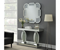 AURA MIRROR CONSOLE TABLE