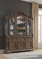 Wooden Hutch and Buffet - B803