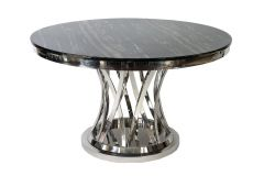 Dining table with chrome base PF9021DT
