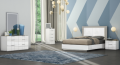 Modern and Unique Style Bedroom Set (Harvey)