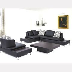 Discover huge Collection of 2 Pc Sectional with Chair - Nicki Black GL6751