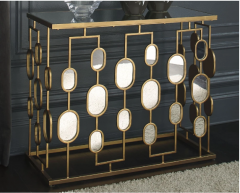 Gold Console Table Ashley A4000047