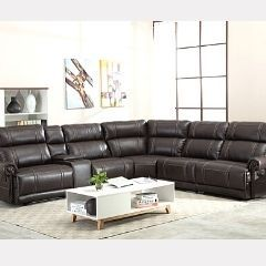 Unmatched deals on Sectional Set with 4 Power and One Chaise - Mendis GL6478
