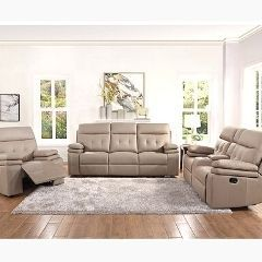 Leather 3Pc Recliner Set - 95900