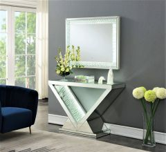 V - Console and Mirror with Led Light