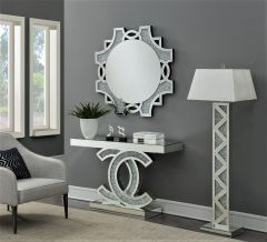 Beautiful Console Table and Mirror