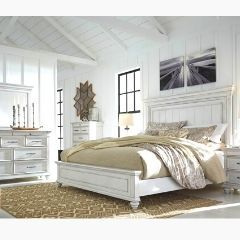 Contemporary style 6pc Queen Bedroom set - B777