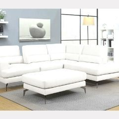 Two Piece Sectional / Ottoman and more on exciting deals! Serenity White - GL6741