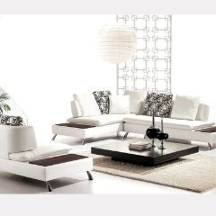 Modern 2 Pc Sectional with Chair ( without Coffee Table ) - GL6751
